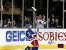 Chris Kreider New York Rangers Signed Celebration 8x10 Kreider hologram