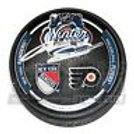 Anton Stralman New York Rangers Signed 2012 Winter Classic Dual Logo Puck Flyers