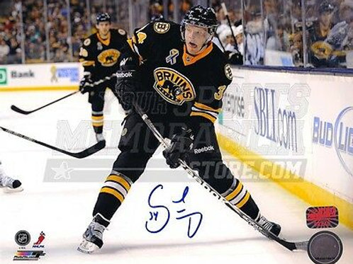 Carl Soderberg Boston Bruins Signed Autographed 1st NHL Game 8x10