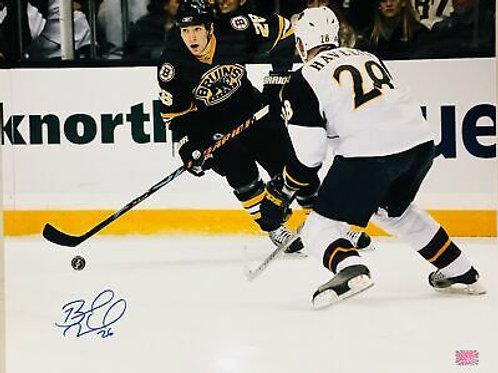 Blake Wheeler Boston Bruins Jets Signed Autographed Skate Action 16x20