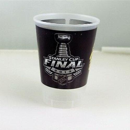Boston Bruins Vs. Chicago Blackhawks Stanley Cup Small Plastic Tint Souvenir Cup