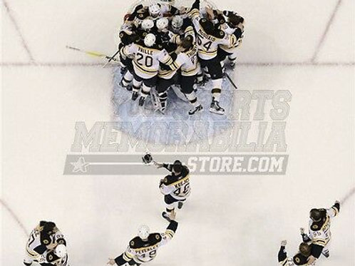 Boston Bruins Stanley Cup 2011 celebration over head  8x10 11x14 16x20 1809
