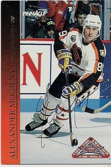 Alexander Mogilny Buffalo Sabres 1993 Score Rookie Hand Signed Card