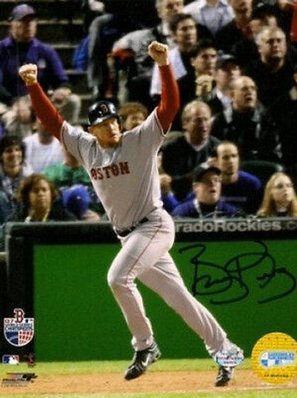 Bobby Kielty Boston Red Sox signed 2007 WS 8x10