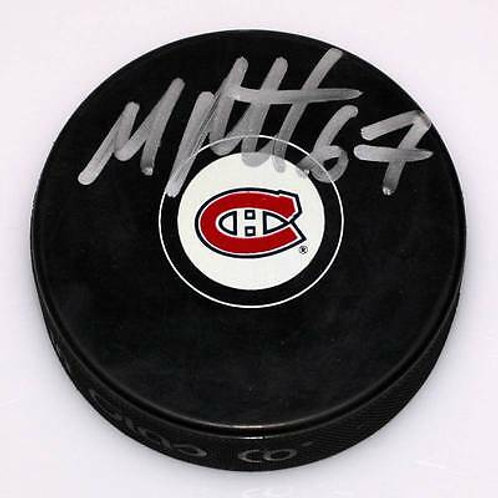 Max Pacioretty Montreal Canadiens Signed Autographed Hockey Puck Pacioretty Holo