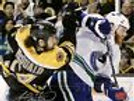 Adam McQuaid Boston Bruins Signed Stanley Cup Finals Hit 8x10