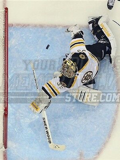 Anton Khudobin  Boston Bruins aerial dive save   8x10 11x14 16x20 photo 3057