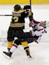 Brad Marchand Boston Bruins Nails Denis Wideman photo 8x10 11x14 16x20 1954