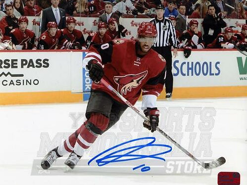 Anthony Duclair Arizona Coyotes Signed Autographed Home Action 8x10 H