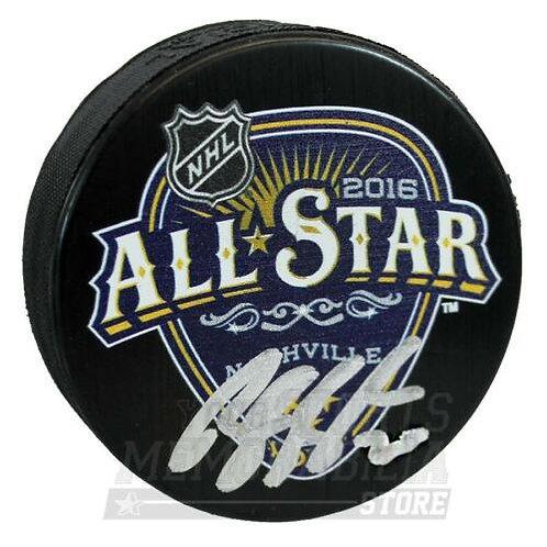 Brandon Saad Columbus Blue Jackets Signed Autographed 2016 NHL All-Star Puck