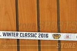 Boston Bruins 2016 Winter Classic Team Signed Autographed Mini Stick