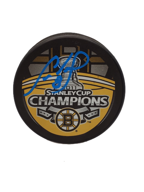 Cam Neely signed autographed Boston Bruins 2011 Stanley Cup Champ puck