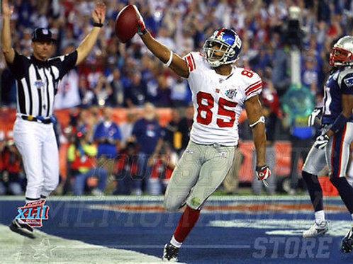 2007 Super Bowl Giants David Tyree end zone td catch 8x10 11x14 16x20  photo 339
