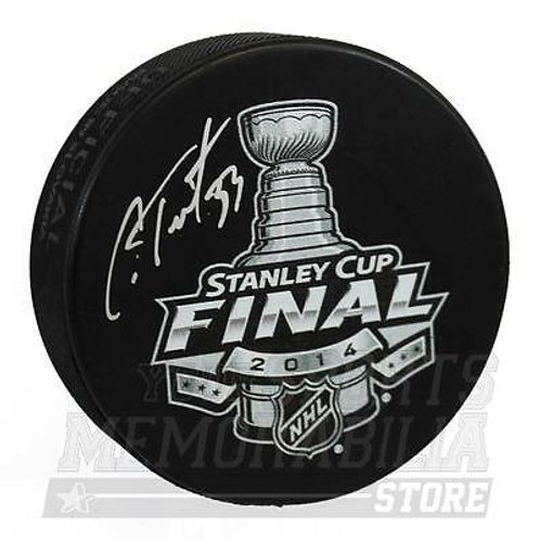 Cam Talbot New York Rangers Signed Autographed 2014 Stanley Cup Final Puck