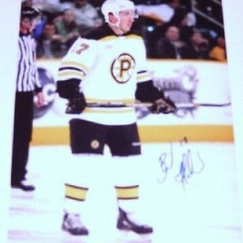 Brad Marchand Providence Bruins signed 8x10 A