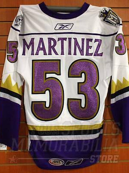 Alec Martinez Manchester Monarchs Game Hockey Jersey Los Angeles Kings