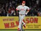 Chase Utley Philadelphia Phillies rounding bases run 8x10 11x14 16x20 photo 0917