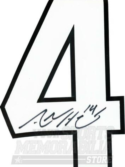 Adam Henrique New Jersey Devils Signed Autographed Home Jersey Number