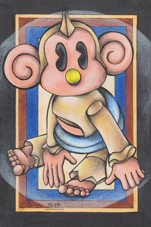 Super Monkey Ball 2 - Baby *Print*