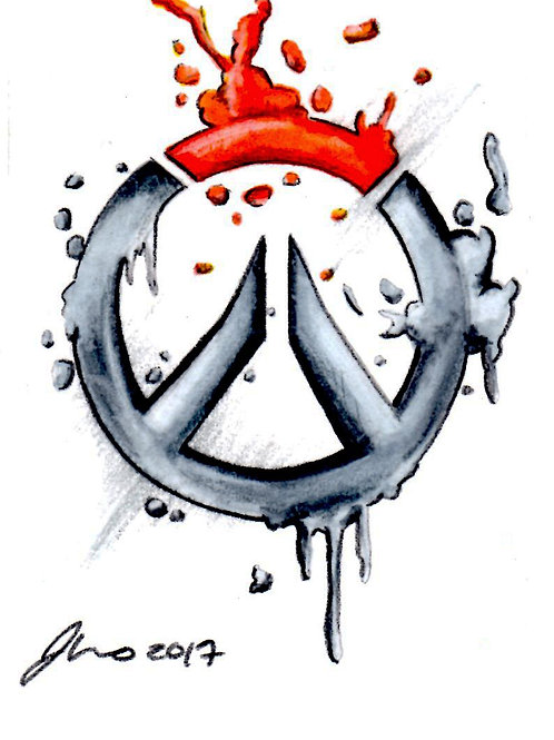 Mini - Overwatch Symbol *Print*
