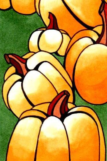 Pumpkins Bookmark