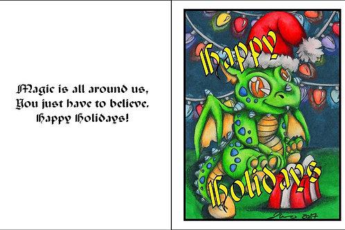 Dragon Holiday Card