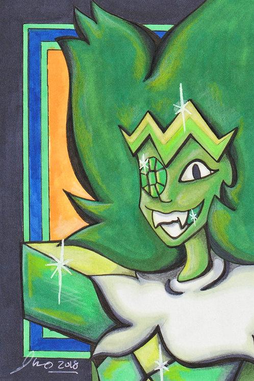 Steven Universe - Emerald *Print*