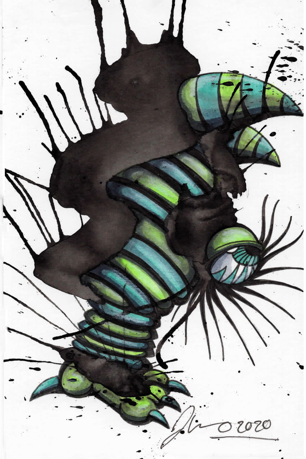 Inkblot Monster (The Smalls) #6