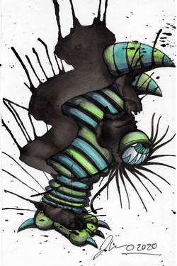 Inkblot Monster (The Smalls) #6