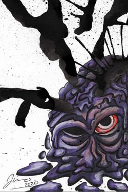 Inkblot Monster (The Smalls) #3
