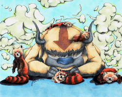 Sky Bison and Friends