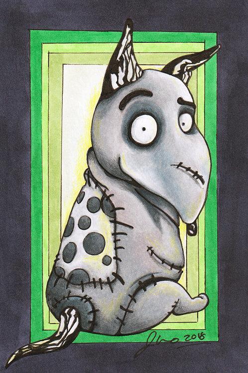 Tim Burton Dogs - Frankenweenie *Print*