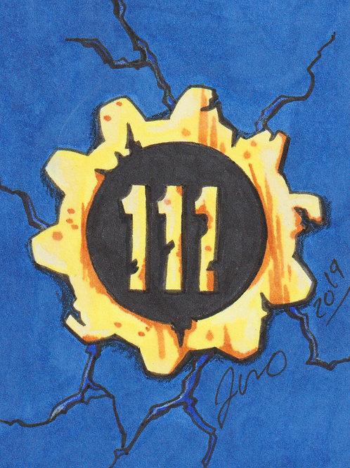 Mini - Fallout Vault 111 *Print*