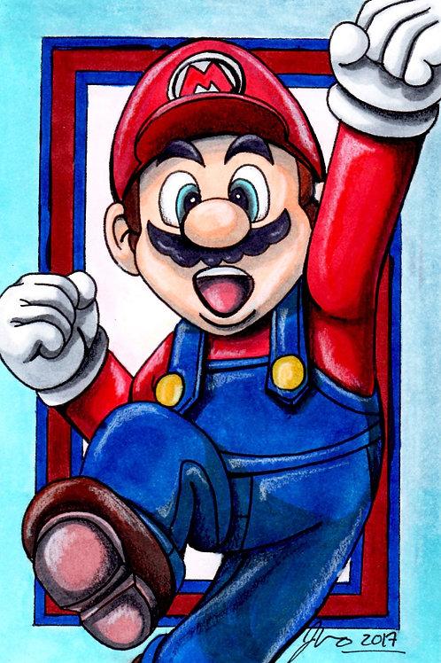 Mario Bros - Mario *Print*