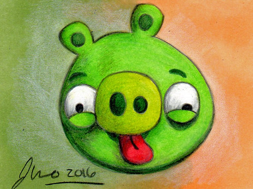 Mini - Angry Birds Piggy *Print*