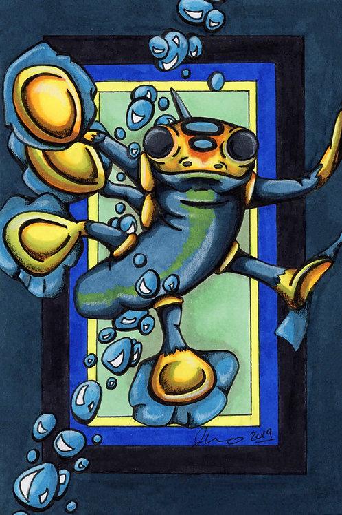Subnautica - Hover Fish *Print*