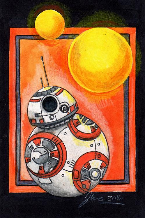 Star Wars - BB8 *Print*