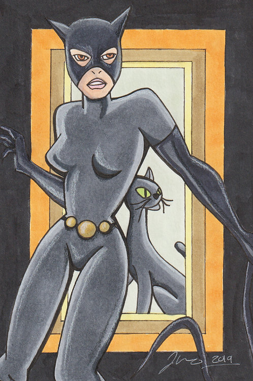Batman The Animated Series - Catwoman *Print*