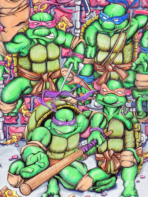 Teenage Mutant Ninja Turtles *Print*