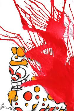 Inkblot Monster #18