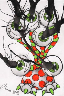 Ink Blot Monster #16