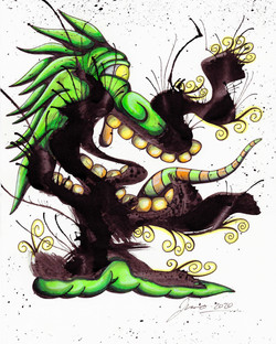 Inkblot Monster (The Larges) #8