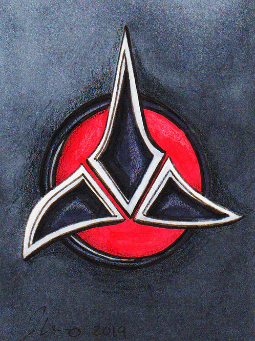 Mini - Star Trek Klingon *Print*