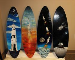Dawson Surf Board Commission Full Set