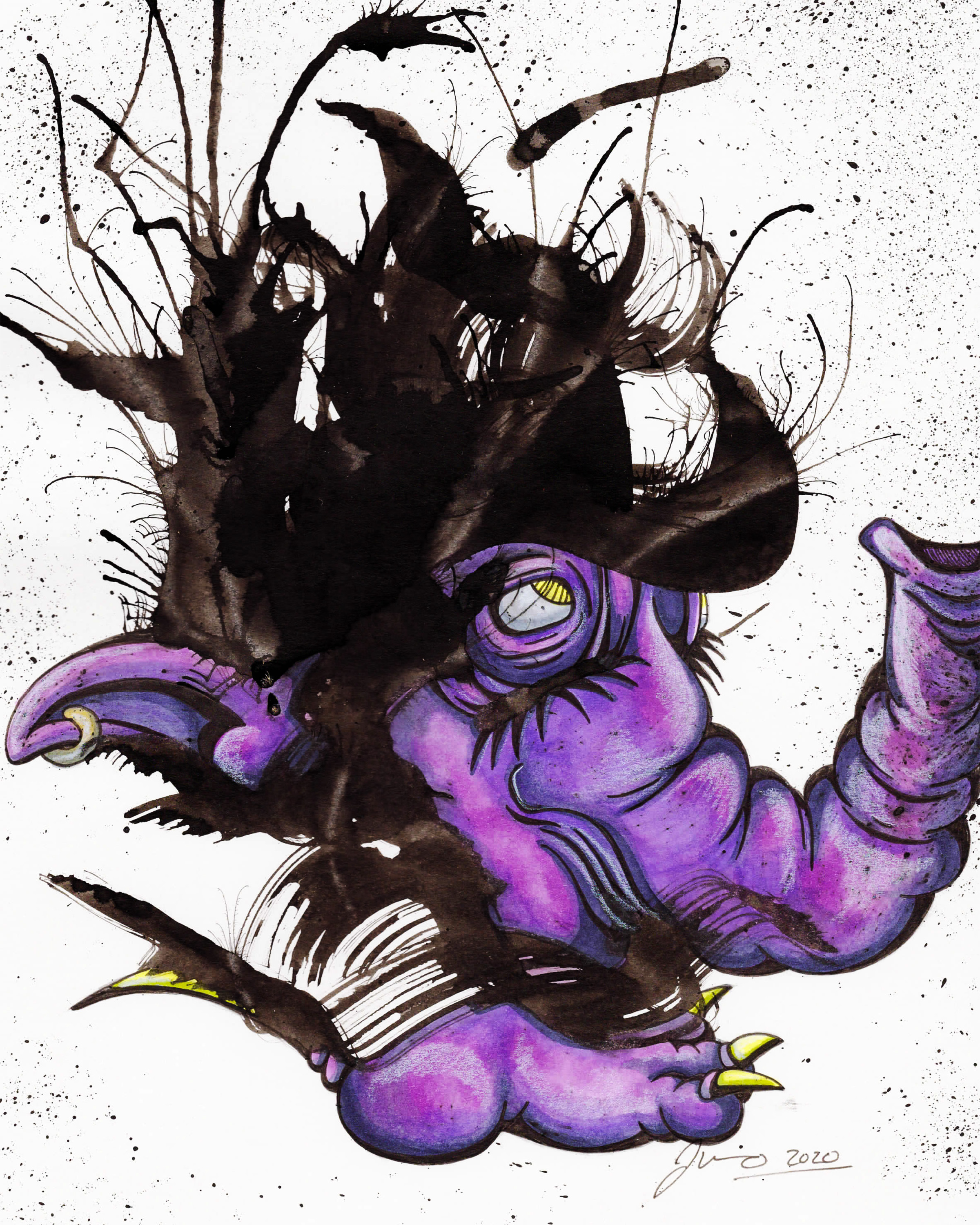 Inkblot Monster (The Larges) #2