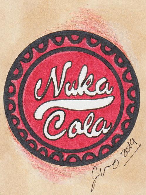 Mini - Fallout Nuka Cola *Print*