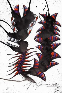 Inkblot Monster (The Smalls) #7