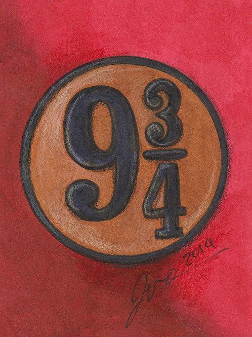Mini - Harry Potter 9 3/4 *Print*