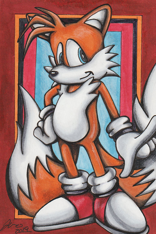Sonic the Hedgehog -Tails *Print*