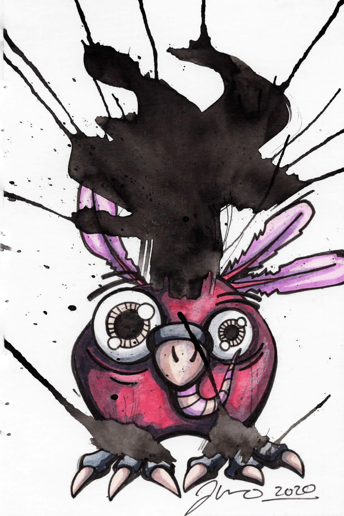 Inkblot Monster (The Smalls) #8